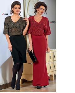 Платье из трикотажа милано женское ПЛЖП-03 – купить в